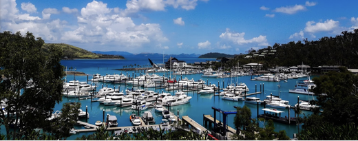 G Arm, Hamilton Island Marina, Whitsundays | Whitsunday Water Taxi Transfers | Island Departures