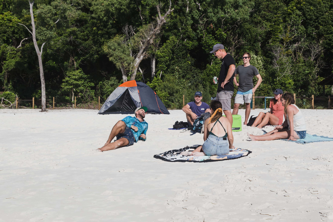 Camping at Whitehaven Beach, Can you camp at Whitehaven Beach, Whitsunday Island Camping, Camping Whitsundays, Airlie Beach Camp sites, Campgrounds Airlie beach, Airlie beach on a budget, Whitsundays on a budget, Copyright Plain Jane Creative 2019